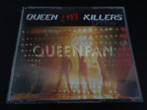 Cd Queen Live Killers (UK) 1st press