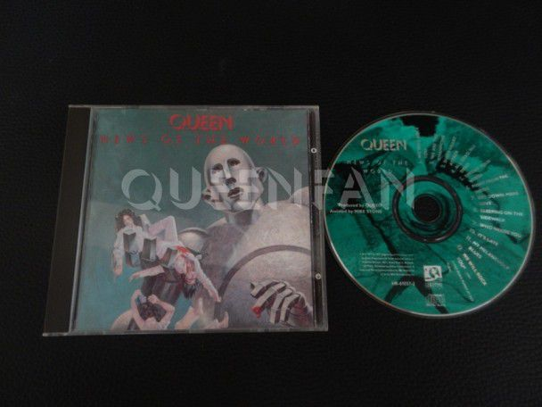 Cd Queen News of the world (USA)