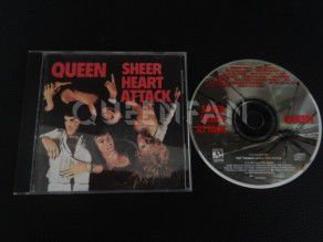 Cd Album Queen Sheer heart attack (USA) 1991