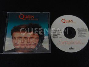 Cd Queen The miracle (Holland)