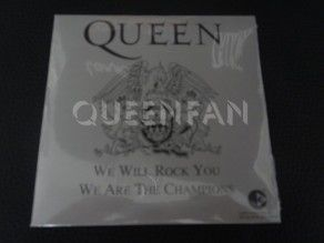 Cd Single Queen We will rock you (France) Cardboard