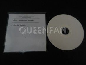 Cd Single Queen and Paul Rodgers Say it's not true (UK) Demo