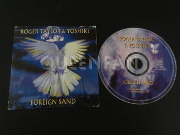 Cd single Roger Taylor Foreign sand (Holland) Cardsleeve