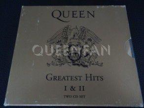 Cd Album Queen Greatest hits Vol. I and II (Austria) Silver labels