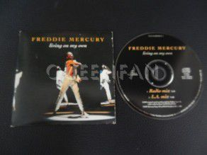 Cd Single Freddie Mercury Living on my own (Holland) Cardboard (Queen)