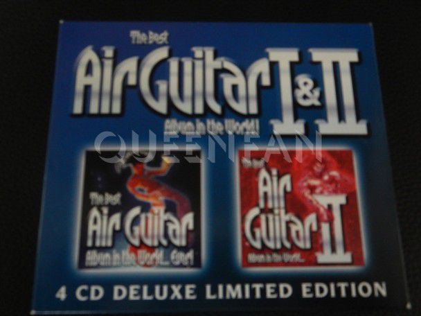Cd Brian May The Best Air Guitar Album In The World I & II (UK)