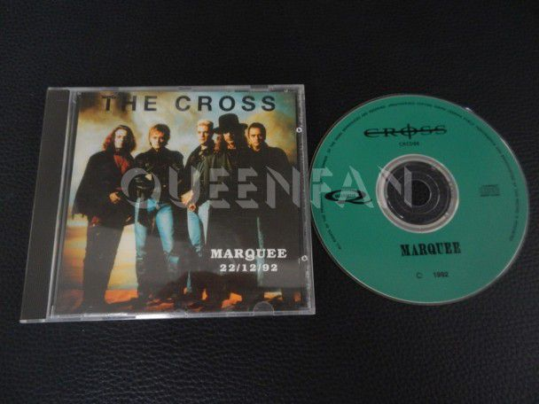Cd The Cross Marquee 22-12-92 (Germany)