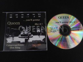 Cd Album Queen You ll gonna like it (Holland) Gold label, limited