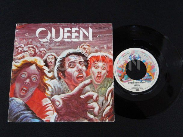 "7"" Vinyl single Queen Spread your wings (Germany)"