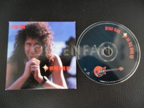 Cd Single Brian may On my way up (Holland) Cardboard (Queen)