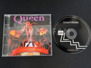 Cd Album Queen Command Performance (Italy)