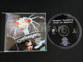 Cd Album Roger Taylor Fun in space (Holland) (Queen)