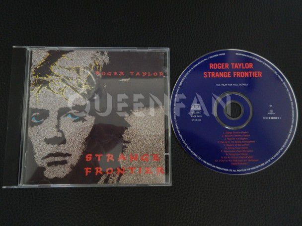 Cd Album Roger Taylor Strange frontier (Holland) (Queen)
