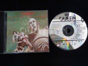 Cd Album Queen News of the world (Holland) 1st press