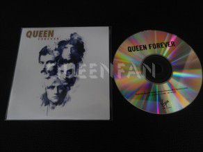 Cd single Queen Forever (UK) Promo with Promo sheet
